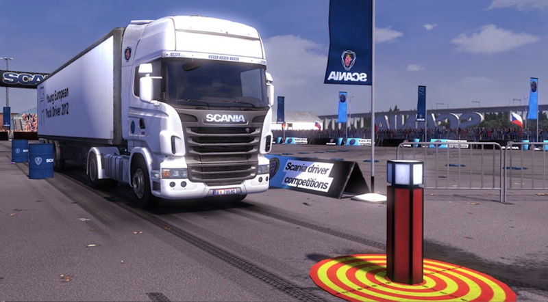 SCANIA Truck Driving Simulator screenshot: scania,truck simulator,truck sim,truck game,driving game,driving simulation,scs software